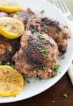 Za'atar Seasoned Chicken is a twist on our boring chicken seasoning that you won't regret trying with this quick dish that is perfect for grilling or searing in a pan.