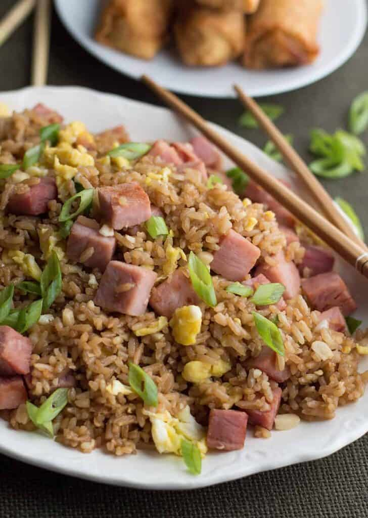 Fried Rice With Leftover Ham