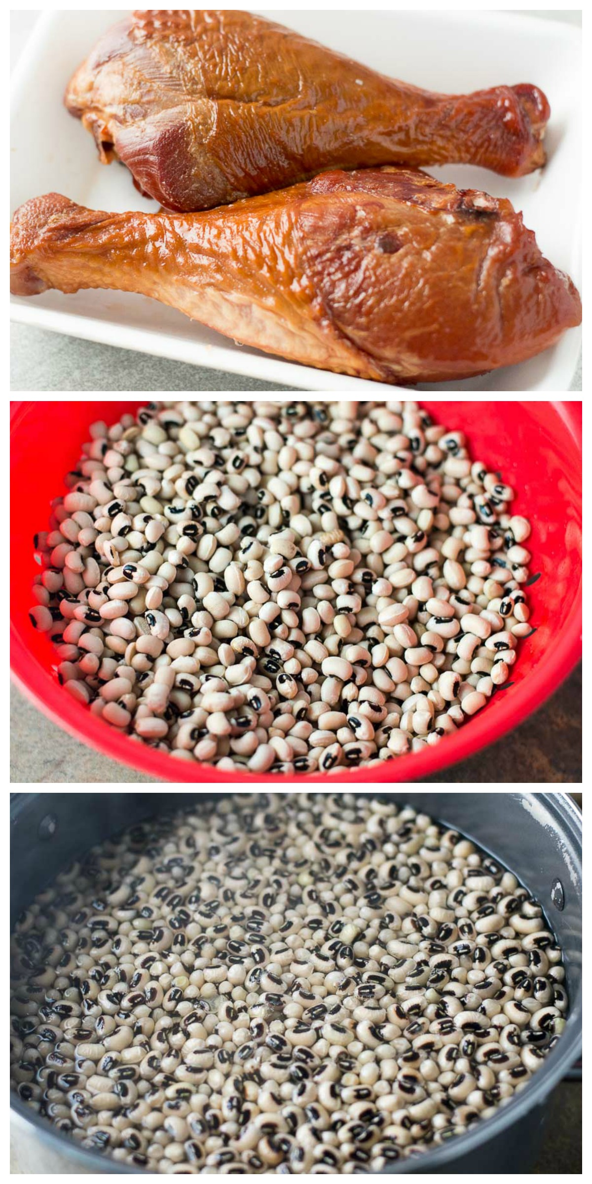 Spicy and Smoky Southern Black Eyed Peas