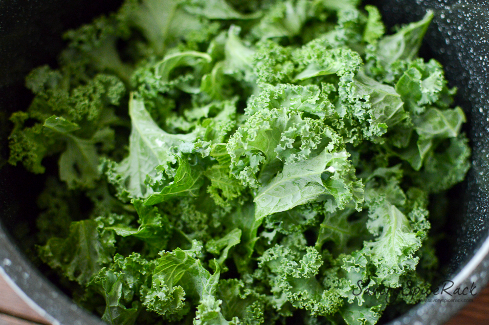 kale tomato in garlic brown butter 7
